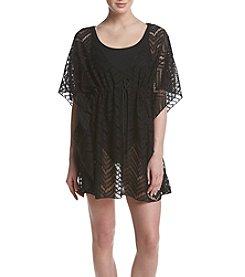 Miken® Tie Front Crochet Coverup