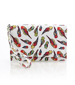Relativity® Tropical Bird Bifold Cell Phone Wallet