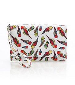 Relativity® Tropical Bird Bifold Cell Phone Wallet