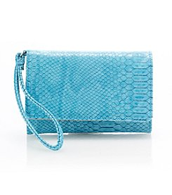 Relativity® Snakeskin Embossed Bifold Cell Wallet
