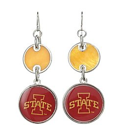 Studio Works® NCAA® Iowa State Cyclones Drop Earrings