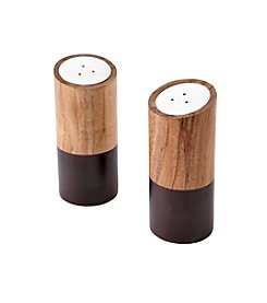 Thirstystone® Stained Wood Salt & Pepper Shakers