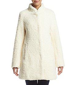 Ivanka Trump® Funnelneck Faux Fur Coat