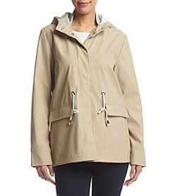 French Connection Rain Slicker Coat