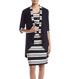R&M Richards® Striped Dress