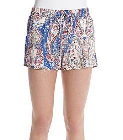 Be Bop Paisley Shorts