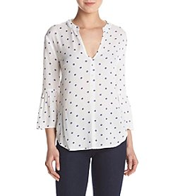 Splendid® Oversize Dot Blouse