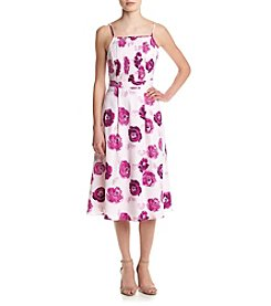 Kensie® Rose Garden Midi Dress
