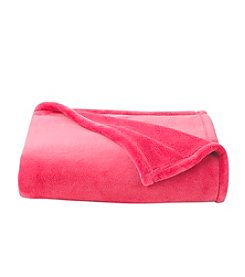 LivingQuarters Luxe Plush Solid Throw