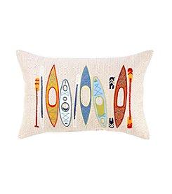 Ruff Hewn Kayak Decorative Pillow