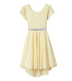 Speechless® Girls' 7-16 Glitter Sequin Lace Tulle Dress