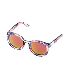 Riviera Girls' Oversize Round Mini Me Glasses