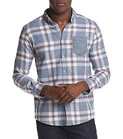 RETROFIT® Men's Mock Twist Plaid Shirt
