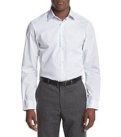 John Bartlett Statements Men's Striped Slim Fit Dress Shirt