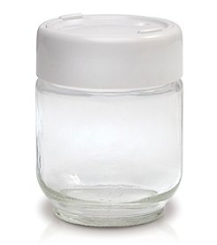 Euro Cuisine® Set of 8 Glass Jars with Date Setting
