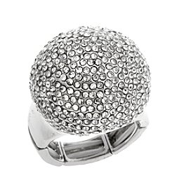 Erica Lyons® Extended Sizes Dome Stretch Ring