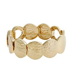 Erica Lyons® Extended Sizes Circles Stretch Bracelet