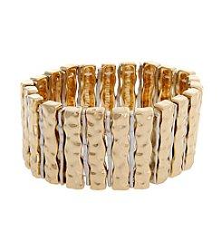 Erica Lyons® Extended Sizes Sticks Stretch Bracelet