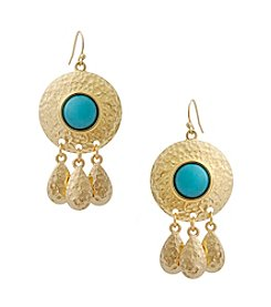 Erica Lyons® Drop Fringe Earrings