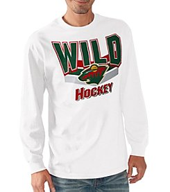 G III NHL® Minnesota Wild Men's Playbook III Long Sleeve Tee