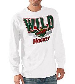 G III NHL® Minnesota Wild Men's Playbook III Long Sleeve Tee