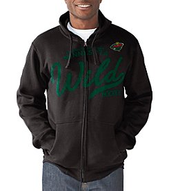 G III NHL® Minnesota Wild Men's Post Season Full-Zip Hoodie