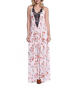 Skylar & Jade™ Floral Maxi Dress