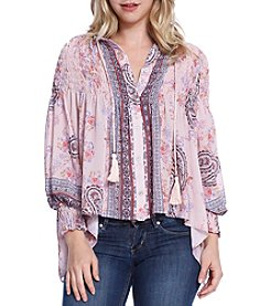 Skylar & Jade™ Printed Tunic Top
