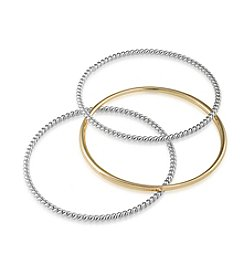 Lauren Ralph Lauren Perfect Pieces Set Of Three Bangle Bracelets
