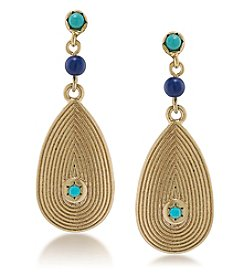 Lauren Ralph Lauren Pop Style Linear Drop Pierced Earrings