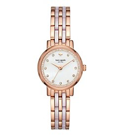 kate spade new york® Acetate Mini Monterey Watch