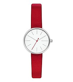 Skagen Women's Signatur Leather Watch