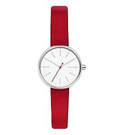 Skagen Women's Signatur Leather Watch