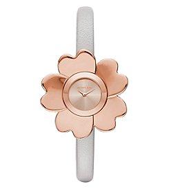 Michael Kors® Women's Mena Leather Two Hand Watch
