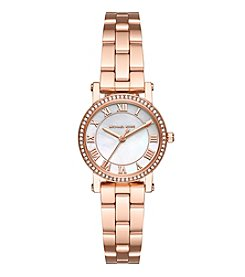 Michael Kors® Petite Norie Rose Goldtone Watch