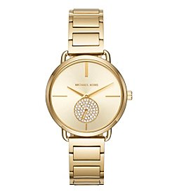 Michael Kors® Portia Goldtone Watch