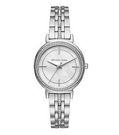 Michael Kors® Cinthia Pave Silvertone Watch