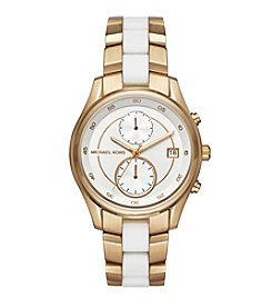 Michael Kors® Briar Goldtone Multifunction Watch