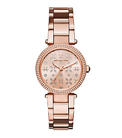 Michael Kors® Mini Parker Rose Goldtone Watch