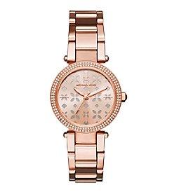 Michael Kors® Mini Parker Rose Goldtone Watch