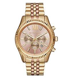 Michael Kors® Lexington Two-Tone Chronograph Watch