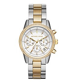 Michael Kors® Ritz Two-Tone Chronograph Watch