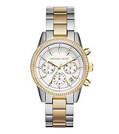 Michael Kors® Ritz Two-Tone Chronograph Watch