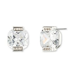 Anne Klein® Cubic Zirconia Stud Earrings