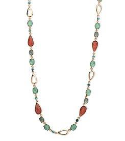 Anne Klein® Mixed Stone Strand Necklace