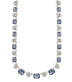 Anne Klein® Faceted Stone Collar Necklace