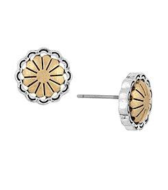 The Sak® Concho Metal Stud Earring