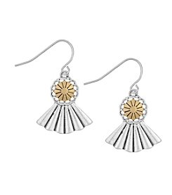 The Sak® Concho Fan Drop Earring