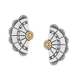 The Sak® Concho Fan Stud Earrings