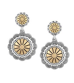 The Sak® Concho Double Drop Earrings
